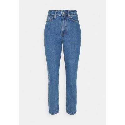ジン デニムパンツ レディース ボトムス Mom fit jeans - Jeans Skinny Fit - blue denim