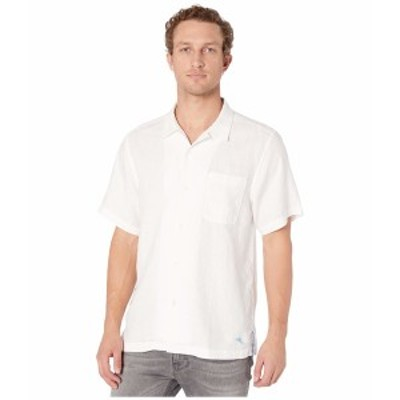 トッミーバハマ メンズ シャツ トップス Sea Glass Camp Shirt White