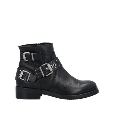 N'SAND® ショートブーツ ブラック 36 牛革(カーフ) ショートブーツ
