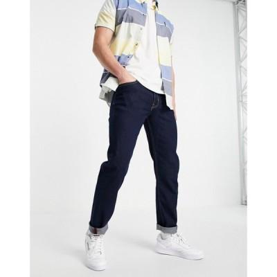 ベンシャーマン Ben Sherman メンズ ジーンズ・デニム スキニー・スリム ボトムス・パンツ slim fit jeans in rinse wash ブルー