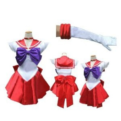 DK989 コスプレ衣装◆美少女戦士 セーラームーン セーラーマーズ /火野レイ 風 完全オーダメイドも対応可能