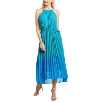 テイラー ワンピース トップス レディース Taylor Colorblocked Maxi Dress astral/turquoise