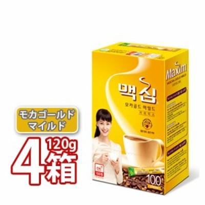 送料無料 マキシム モカゴールド コーヒーミックス 12g x 100本入り 4BOX (05812x4)