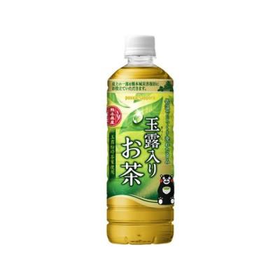 ポッカサッポロ/玉露入りお茶 600ml