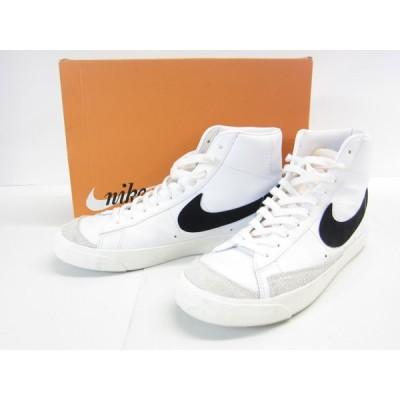 NIKE BLAZER MID 77 VINTAGE BQ6806-100 スニーカー 靴 28.5cm ◎UT6632