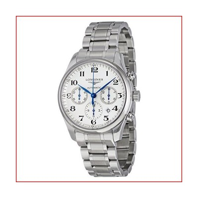 Longines Master Collection - L2.693.4.78.6 - Stainless Steel Silver Dial Automatic Chronograph Men's【並行輸入品】