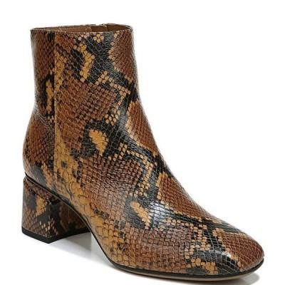 フランコサルト レディース ブーツ・レインブーツ シューズ Marquee Snake Print Leather Booties