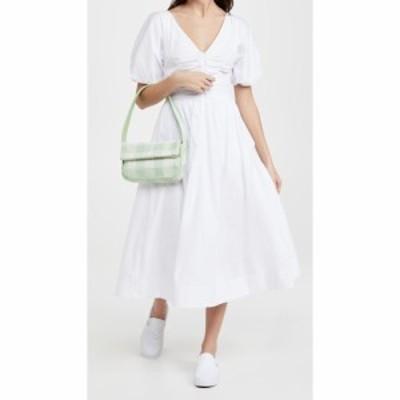 スタウド STAUD レディース ワンピース ワンピース・ドレス Greta Dress White