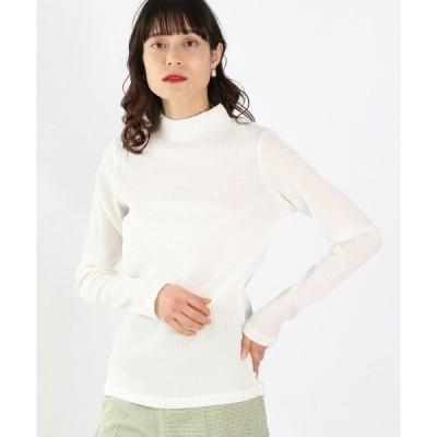 tシャツ Tシャツ ギンガムチェックハイネックLS 934030