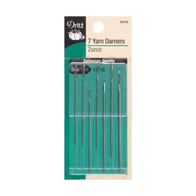 海外より出荷【並行輸入品】Yarn Darners Hand Needles-Size 14/18 7/Pkg (並行輸入品)米出荷後キャンセル手数料