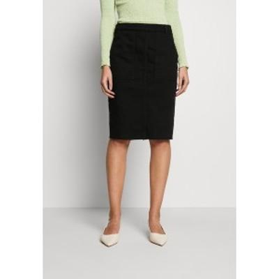ベネトン  レディース スカート ボトムス SKIRT - Pencil skirt - black black