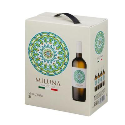 ミルーナ ビアンコ  白 バックインボックス テッレ ディ サヴァ社 イタリア 白ワイン 3,000ml