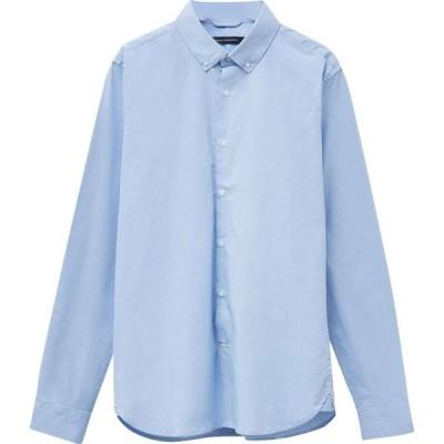 フレンチコネクション French Connection メンズ シャツ トップス Formal Micro Check Shirt Blue Micro Check