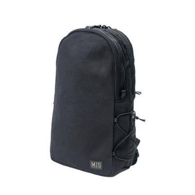 エムアイエス MIS Mesh Backpack Black