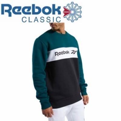 リーボック スポーツウェア クラシックス リニア クルー スウェットシャツ GLQ62-FN2954 メンズ レディース