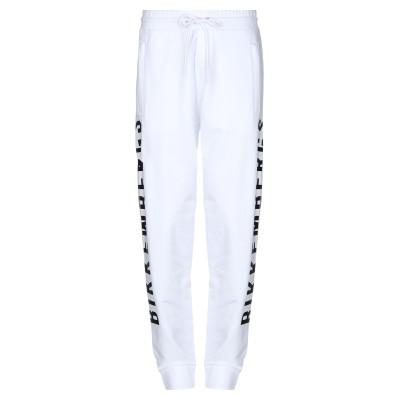 ビッケンバーグ BIKKEMBERGS パンツ ホワイト XS コットン 95% / ポリウレタン 5% パンツ