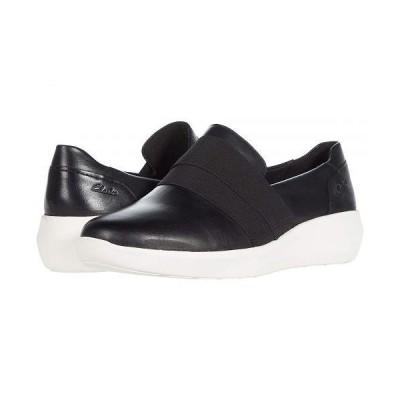 Clarks クラークス レディース 女性用 シューズ 靴 スニーカー 運動靴 Kayleigh River - Black