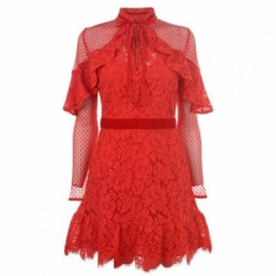パーセヴェランス ロンドン Perseverance レディース ワンピース ワンピース・ドレス Dress Red
