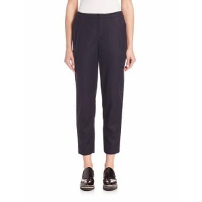 セット レディース パンツ Cropped Wool Blend Trousers