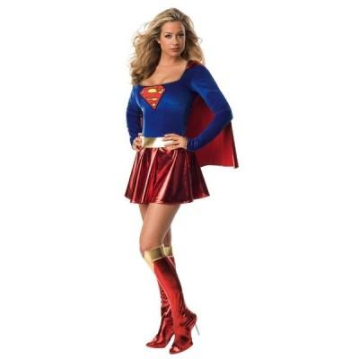 スーパーマン スーパーガール Supergirl 衣装 、コスチューム (女性用)忘年会