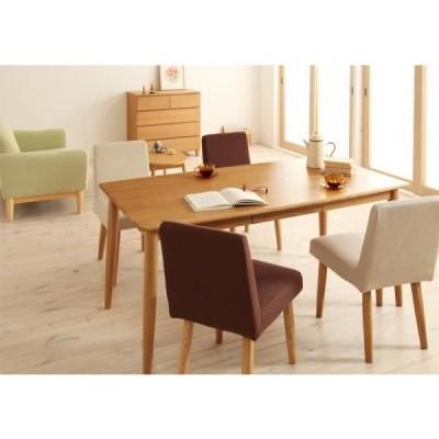 「Unica」ユニカ 天然木タモ無垢材ダイニング5点セット 「Bタイプ:テーブル 幅150cm + チェア4脚」