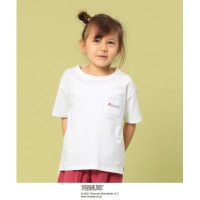 【コーエン】 クリニクラウン PEANUTS Tシャツ21SS(SNOOPY/スヌーピー) キッズ ホワイト 130 coen