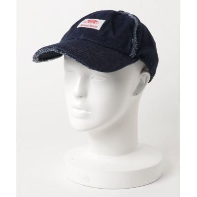 atmos / ROUND HOUSE RH DAMAGE DENIM BB CAP MEN 帽子 > キャップ