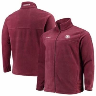 Columbia コロンビア アウターウェア ジャケット/アウター Columbia Texas A&M Aggies Maroon Big & Tall Flanker II Full Zip Jacket