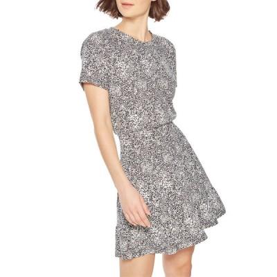 パーカー レディース ワンピース トップス Burke Printed Short-Sleeve Tee Dress