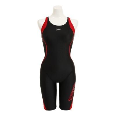 SPEEDOスイム・競泳イーブンラップニースキン SFW12050 REレッド