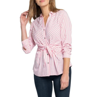 ニックプラスゾーイ シャツ トップス レディース NIC+ZOE Sail Tie Blouse pink multicolor