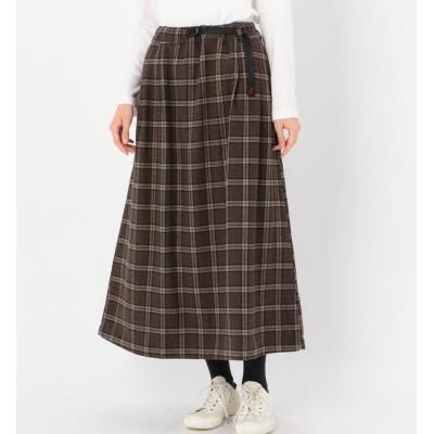 【ビショップ/Bshop】 【GRAMICCI】ウールブレンド ロングフレアスカート WOMEN