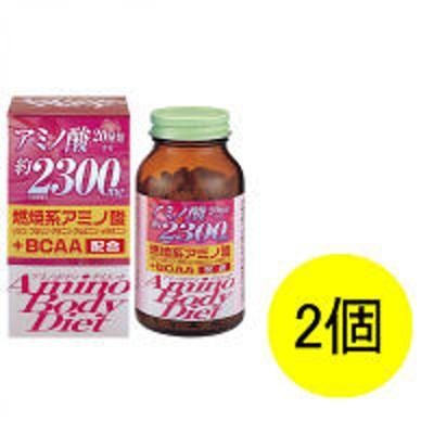 オリヒロオリヒロ アミノボディダイエット粒 1セット(25日分×2個) 180g(600粒) サプリメント