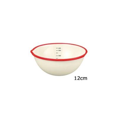 富士ホーロー  ビームス ホーロー片口ボール 12cm BM−12B・NR