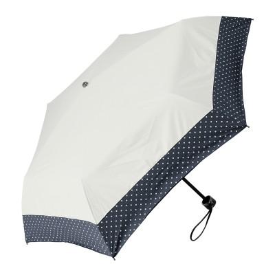 ルナジュメール UV+1級遮光+晴雨兼用 ドット折傘