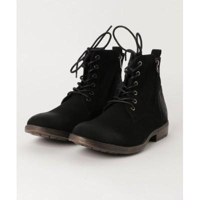 STYLEBLOCK / サイドジッププレーントゥレースアップブーツ MEN シューズ > ブーツ
