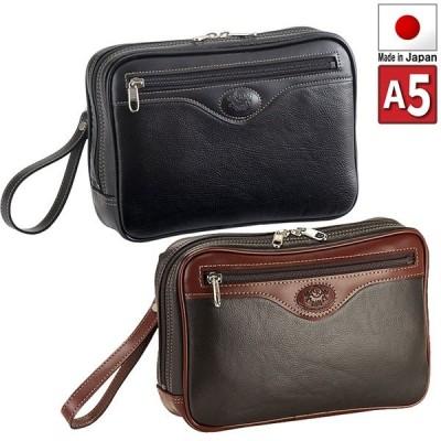 セカンドバッグ ウエット合皮 A5書類 セカンドバック 25cmサイズ 日本製 豊岡の鞄 豊岡製 25622  特選
