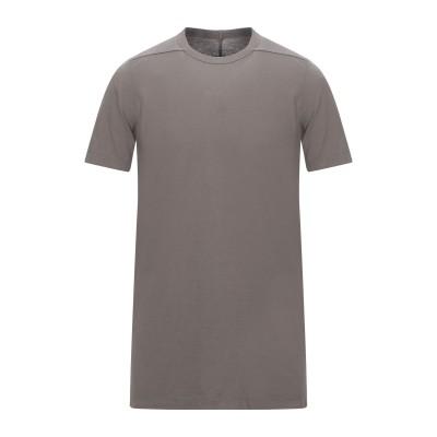 リック オウエンス RICK OWENS T シャツ 鉛色 L コットン 100% T シャツ