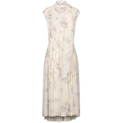 ジョゼフ JOSEPH 7分丈ワンピース・ドレス アイボリー 34 シルク 100% 7分丈ワンピース・ドレス