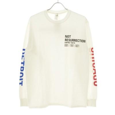 EMPIRE Co.,Ltd Merch New Message L/S Tee 長袖Tシャツ