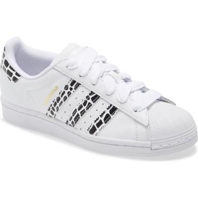 アディダス ADIDAS レディース スニーカー シューズ・靴 Superstar Sneaker White/Gold/Black