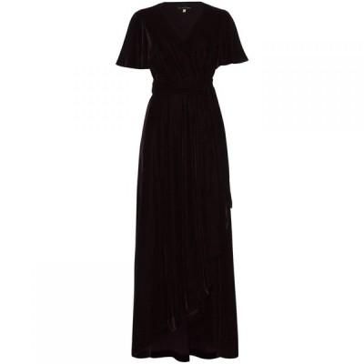 フェイズ エイト Phase Eight レディース パーティードレス ラップドレス ワンピース・ドレス Kiki Velvet Wrap Dress Merlot