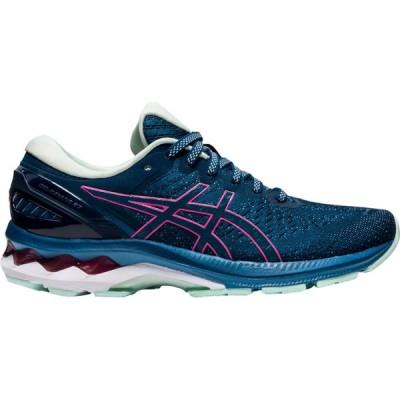 アシックス ASICS レディース ランニング・ウォーキング シューズ・靴 GEL-Kayano 27 Mako Blue/Hot Pink