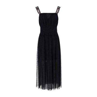 GAëLLE Paris 7分丈ワンピース・ドレス ブラック 42 ナイロン 51% / ポリエステル 49% 7分丈ワンピース・ドレス