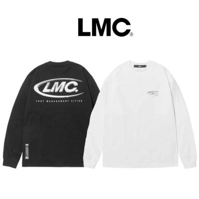 [LMC] 3D CO LONG SLV TEE/ ★韓国人気ブランド★/100%正品/韓国大人気/ 人気商品 送料無料長袖