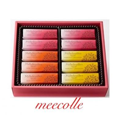 BERNE  MILLEFEUILLES   ベルン ミルフィーユ  10個入 チョコレート  贈答品 プレゼント お土産袋付き