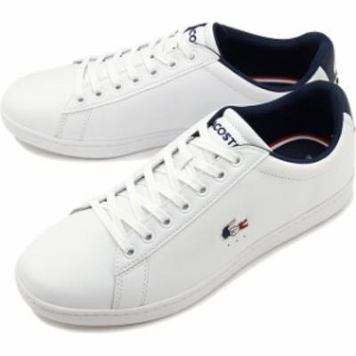 ラコステ LACOSTE メンズ カーナビー エヴォ M CARNABY EVO TRI 1 スニーカー 靴 WHT/NVY/RED ホワイト系 [SMA0033L-407 SS20]【yen300】