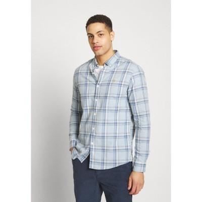 ファーラー シャツ メンズ トップス STEEN CHECK - Shirt - blue