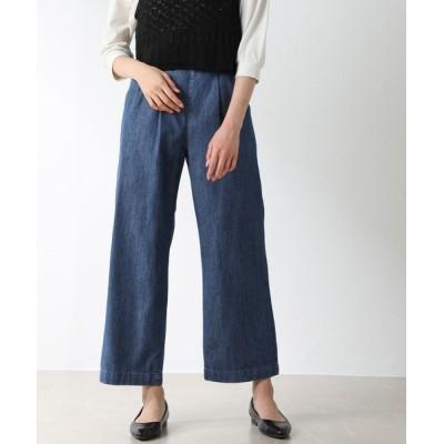 Honeys / ベルト付ストレートパンツ WOMEN パンツ > デニムパンツ