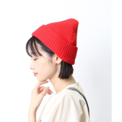 salle de bal / □ ∴畦編みニット帽 / RIDGE KNIT WATCH WOMEN 帽子 > ニットキャップ/ビーニー